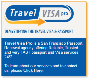 Travel Visa Pro is a San Francisco Passport Renewal agency offering Reliable, Trusted and very FAST passport and Visa services 24/7. Learn more about our services and contact us.